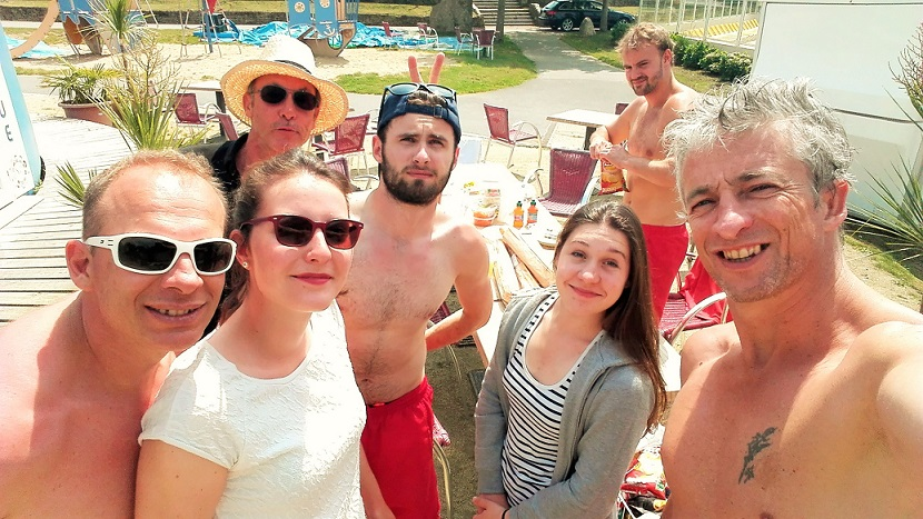 Equipe lifeguard